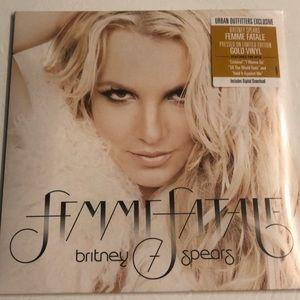 Brand New Britney Femme Fatale Album